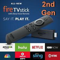 Amazon 2nd Gen Fire Tv Stick W/ Voice Remote Digital Hd Media Streamer In-hd