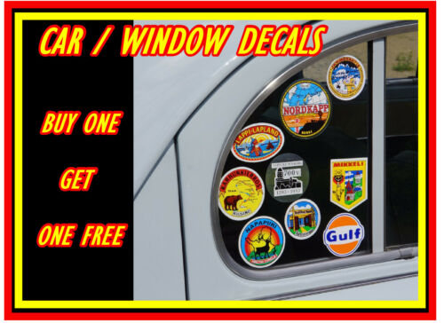 NEW // GIFT TAX IN THE POST +1 FREE FUN CAR STICKER  //  DECAL FUNNY HORSE