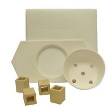 Kiln Glass Fusing Pot Melt Mold Kit - $75.65 Value