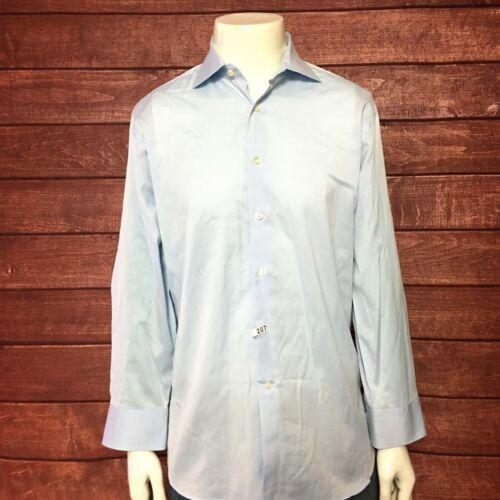 Canali 1934 Men Long Sleeve Shirt 100% Cotton Baby