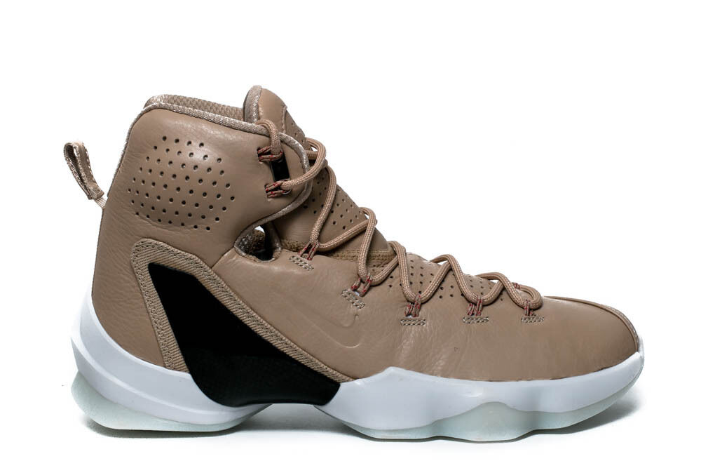 NIKE LEBRON XIII ELITE LB Hommes BASKETBALL Chaussures SIZE: 10 LINEN 876805 299