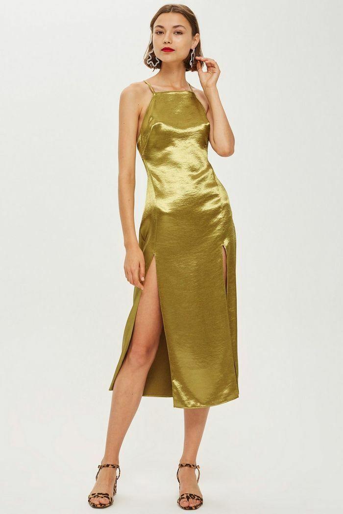 TopShop Strappy Slip Dress 10700 Größe 6