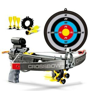 Kids-Infrared-Crossbow-Set-With-Bolts-Target-Gun-Archery-Shooting-Garden-Toy-Fun