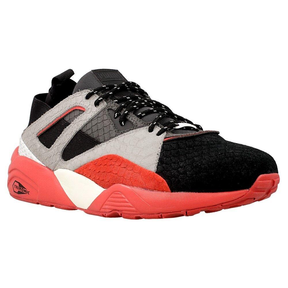 Puma pantano Calcetín Rioja Rojo gris Negro blancoo Zapatos Tenis Entrenadores 361456-03