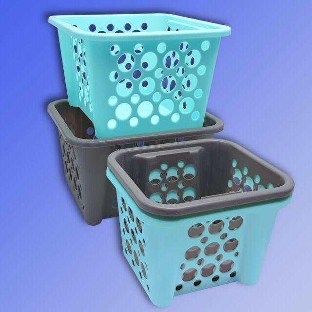 Sortier Box stapelbar Mehrzweck Vorrats Wäsche Haushalts Socken Box Korb