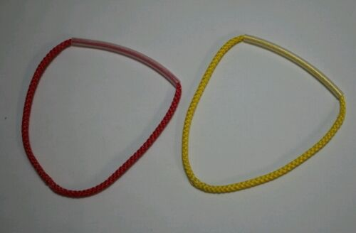 "8 inch 8/"" continuous loop pair hammock suspension 7//64 Amsteel 1 red 1 yellow"