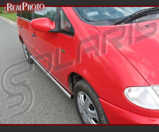 FORD GALAXY MK1 1995-2000 SIDE BARS + GRATIS!!! STAINLESS STEEL!
