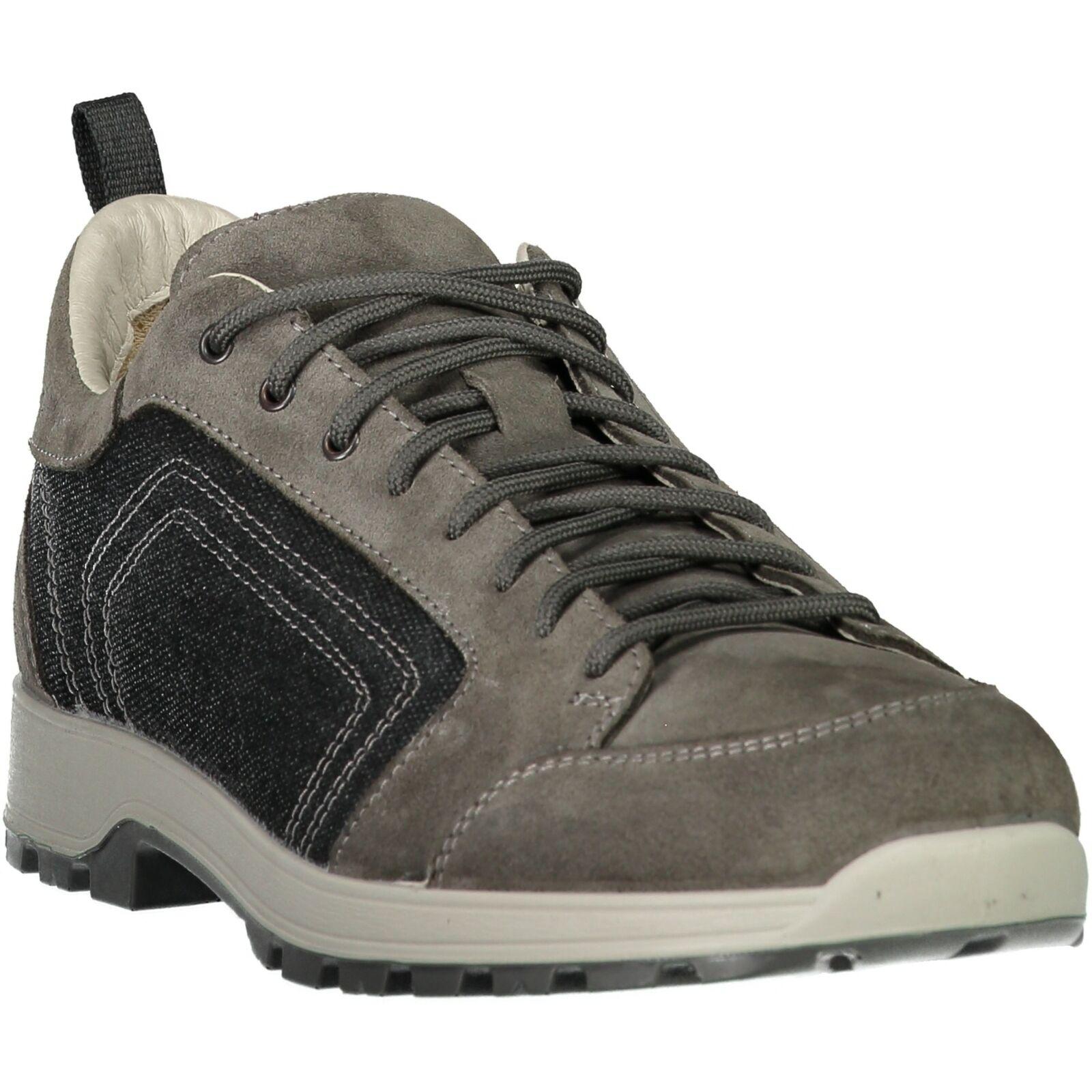 CMP botas Senderismo Zapato Al Aire Libre Atik Canvas Excursionismo Zapatos gris