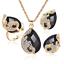 Women-Heart-Pendant-Choker-Chain-Crystal-Rhinestone-Necklace-Earring-Jewelry-Set thumbnail 62