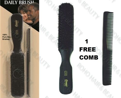 """1 gratuit peigne * Annie 100/% pur sanglier soies cheveux brosse 8/"""" soft daily brosse 2123"""