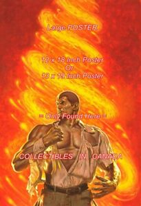 DOC-SAVAGE-1990-13-Omnibus-SWIRLING-FLAME-POSTER-Not-Artwork-2SIZES-18-034-or-19-034