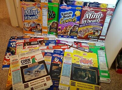 1997 Star wars Cereal Empty Boxes from Canada set of 3