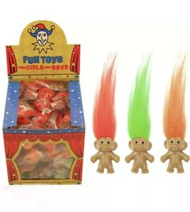 200 Mini TROLLS Mixed Colours Ideal Party Bag from 99p FREE PP 1,6,12 36,48,96