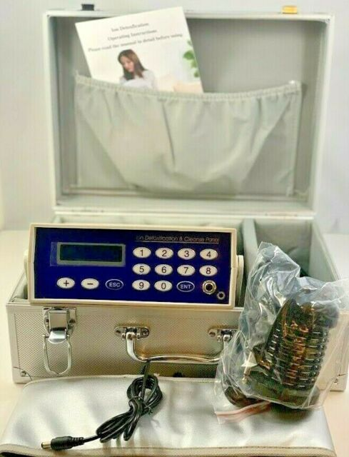 Ionic Detox Foot Bath Spa Machine With Case Ion Ionic Aqua Cleanse Kit For Sale Online