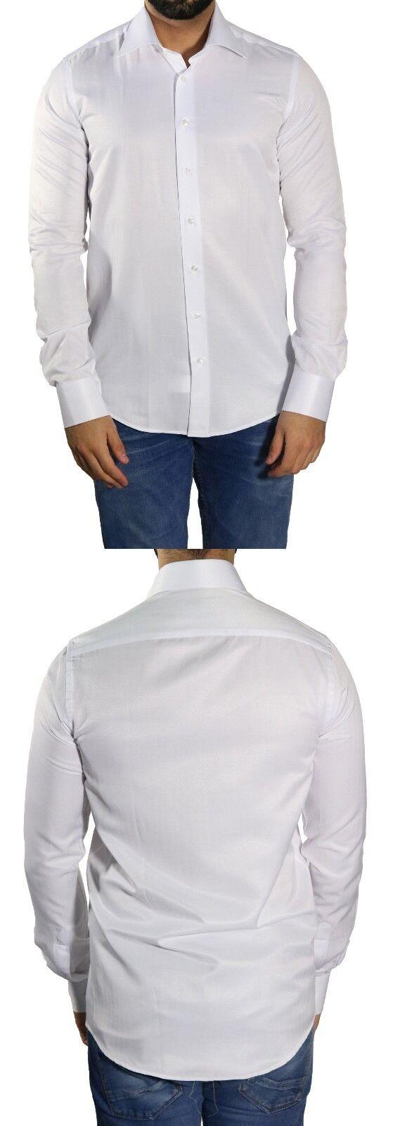 Herrenhemd Slim-fit extra lange arme Gr.3XL Weiß   | Moderate Kosten  | Billig ideal  | Lassen Sie unsere Produkte in die Welt gehen