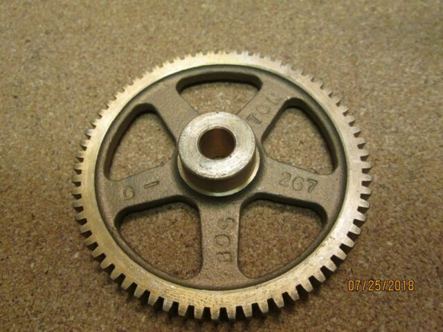 """Boston Gear Y3214 Spur Gear Brass 32 Pitch 0.125/"""" Bore 0.500/"""" OD 14 Teeth New"""