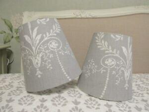 Handmade Tapered Drum lampshade Laura Ashley Josette fabric 15 20 25 30cm