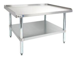 Adcraft ES Heavy Duty X Gauge Stainless Steel - 16 gauge stainless steel table