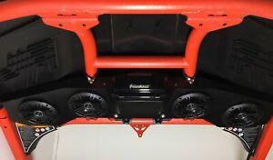 CAN AM X3 Maverick Stereo Radio Kicker 4 speaker Bluetooth sound bar