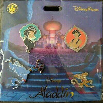Disney Trading Pins    *** ALADDIN  ***    Sealed Booster Set of 4