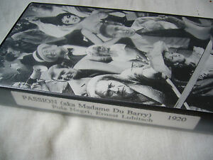 PASSION aka MADAME DU BARRY ERNST LUBITSCH NTSC VHS SMALL BOX - <span itemprop='availableAtOrFrom'>Worthing, United Kingdom</span> - PASSION aka MADAME DU BARRY ERNST LUBITSCH NTSC VHS SMALL BOX - Worthing, United Kingdom