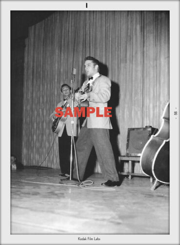 ELVIS PRESLEY /& SCOTTY MOORE IN SET OF 2+4 BY 6 GIFT AMAZING SERIOUS COLLETOR