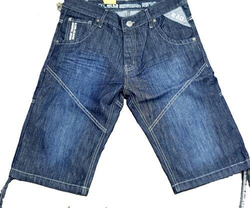 mens g indigo urban relaxed straight fit designer star denim K20 denim shorts