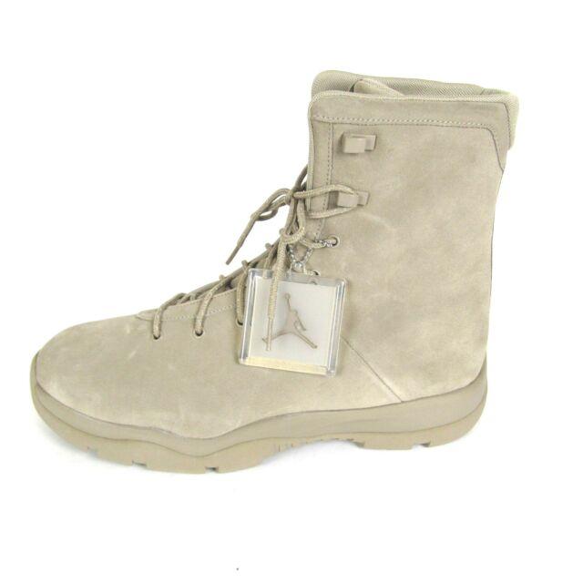 57c05904af4 Nike Air Jordan Future Boot EP Khaki Suede Tan Field SFB Boot 878222-205 Men