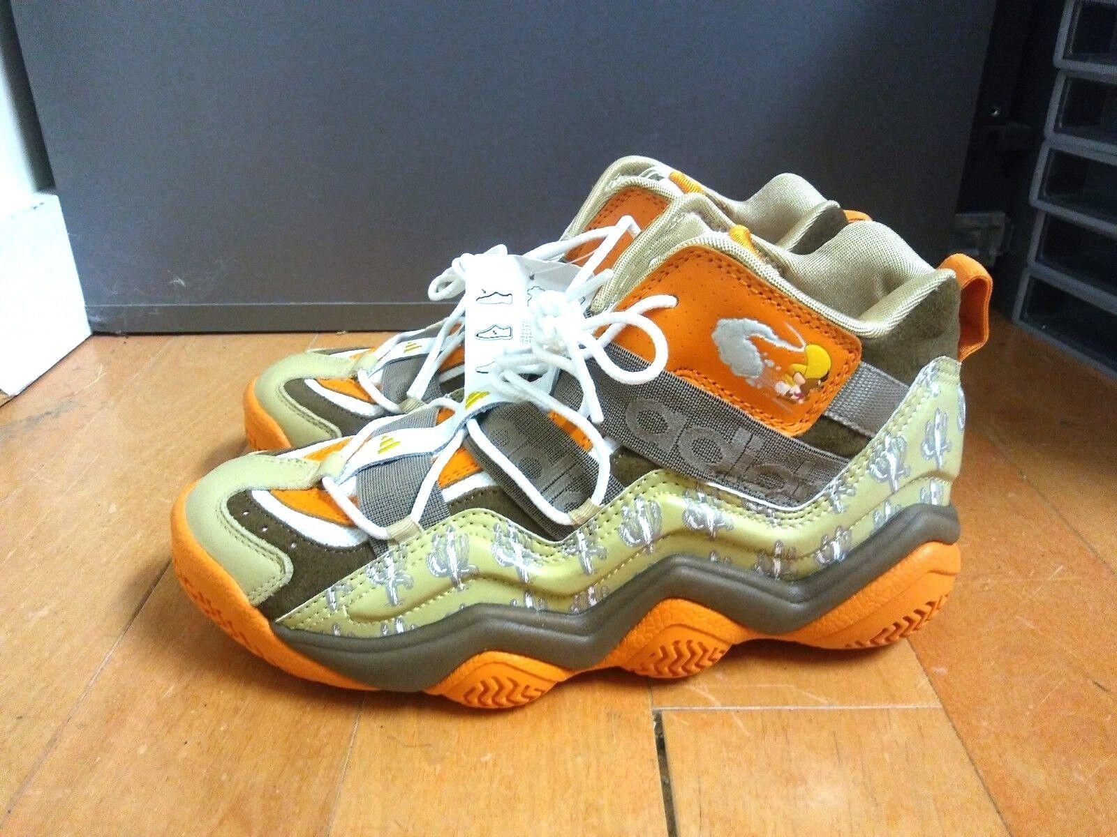 2009' Adidas Top Ten 2000 J Speedy Gonzales Sz 4 Looney