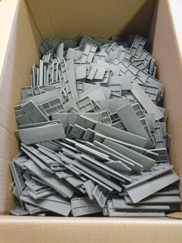 1000 en plastique de fenêtre et vitrage Entretoises 4 mm par 30 mm