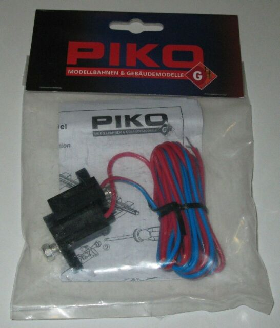 PIKO G Scale Br Train Track Power Clamp With Wires 1 Pair 35270 A G Scale Track Wiring on