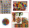24 Bags Water Beads Aqua Gems Bio Gel Balls Crystal Soil Wedding Vase Deco