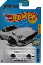 2017 Hot Wheels #76 Factory Fresh Custom Datsun 240Z white