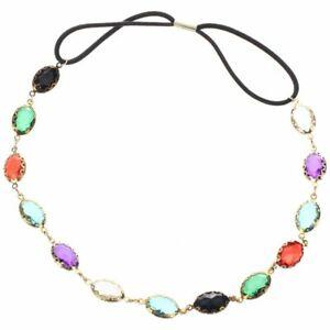 Oval-Head-Chain-Jewelry-Sparkling-Gems-Headband-Head-Piece-Hair-Band-Color-C2Y2
