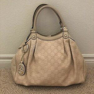 09200b6db691 Image is loading GUCCI-Sukey-Guccissima-Embossed-Leather-Tote-Bag-211944-
