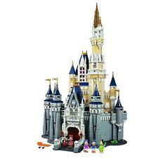 4080Pcs Disney Cinderella Princess Castle Custom Building Blocks 71040 DHL