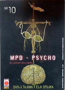 PLANET-MANGA-MPD-PSYCHO-N-10-BUONO-OTTIMO
