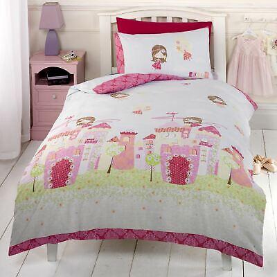 Fairy Castle Single Duvet Cover Set, Fairy Princess Twin Bedding