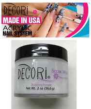 2 oz Professional Acrylic Adoro decori SNOW WHITE Powder like mia secret