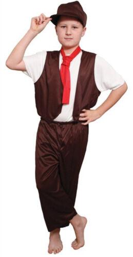 Boys Girls Victorian Fancy Dress Costume Poppins Servant Chimney Sweep Brunel