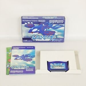 POKEMON-SAPPHIRE-POCKET-MONSTERS-Gameboy-Advance-Nintendo-1834-gba