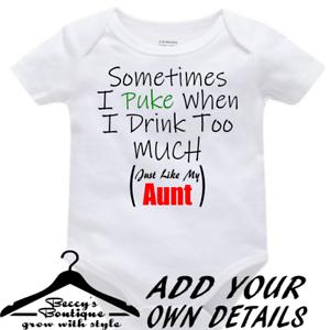 Personalised-Custom-BabyGrow-Vest-Bodysuit-Puke-Just-Like-Auntie-Uncle-Daddy-Mum