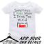 Personalised-Custom-BabyGrow-Vest-Bodysuit-Puke-Just-Like-Auntie-Uncle-Daddy-Mum thumbnail 1