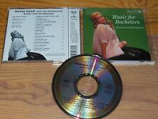 HENRI RENE - MUSIC FOR BACHELORS (HIGH FIDELITY) / ALBUM-CD 1998 MINT!