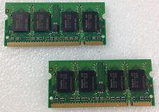 HP Pavillion dv 9000 9500 9565ea RAM MEMORY DDR2 PC2 2 X 1 = 2 GB