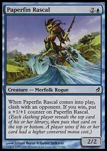 MTG-Magic-C-Lorwyn-Paperfin-Rascal-SP