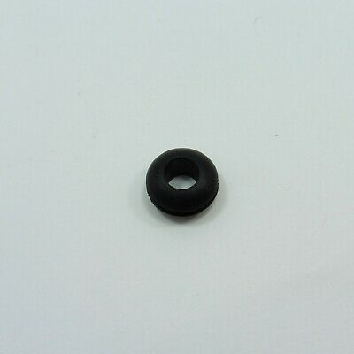 Rubber Grommet Double Sided Gasket Ring Cable Wiring Open Hole Black
