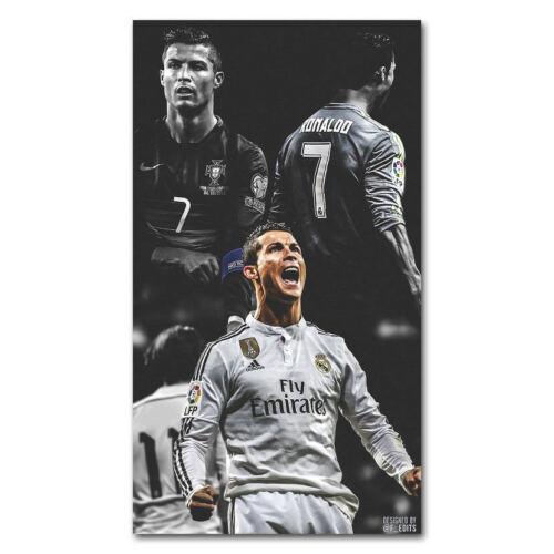 T-59 Art Poster Cristiano Ronaldo Poster Real Madrid Super Star Soccer Player