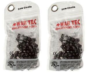 Paquete De 2 Cadena De Motosierra guerra Tec se adapta algunos 14&#034; McCulloch chainaws  </span>