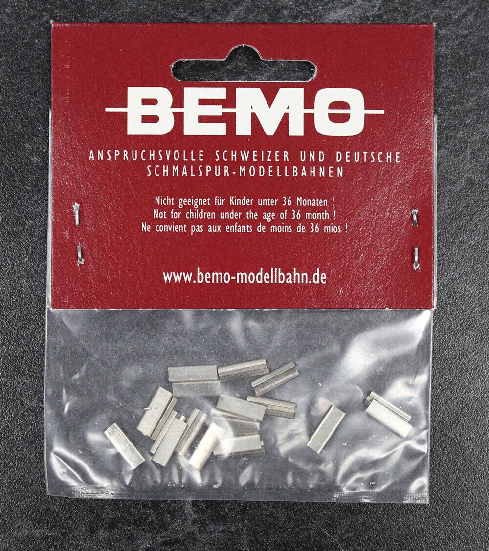 Conector de Cocheril Bemo Modelo Bauteile de metal (20 piezas EA) - 9 Paquete de 180 piezas